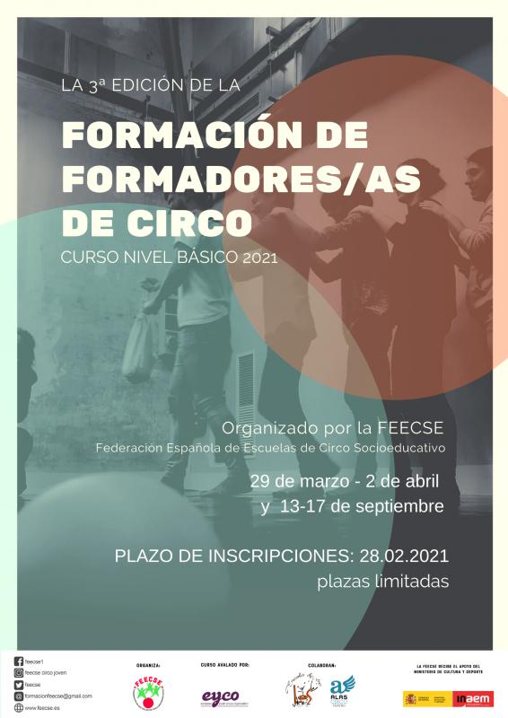 3 Formación de Formadores/as de Circo FEECSE